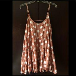BP trapeze slip dress